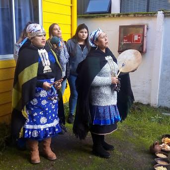 Ceremonia del Wetripantu en nuestro colegio