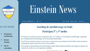 ¡Participa en nuestro periódico escolar Einstein News!