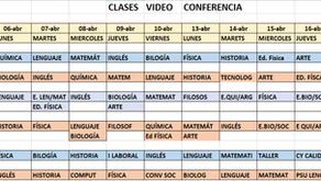 Clases virtuales:  Google Classroom