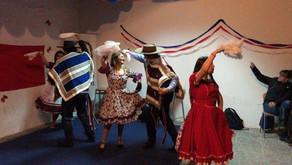 Celebramos las fiestas patrias con nuestra tradicional peña folclórica