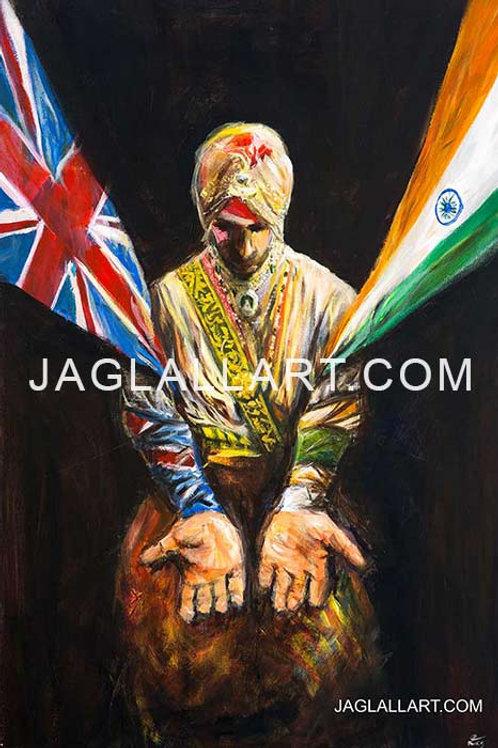 Maharaja Duleep Singh Print