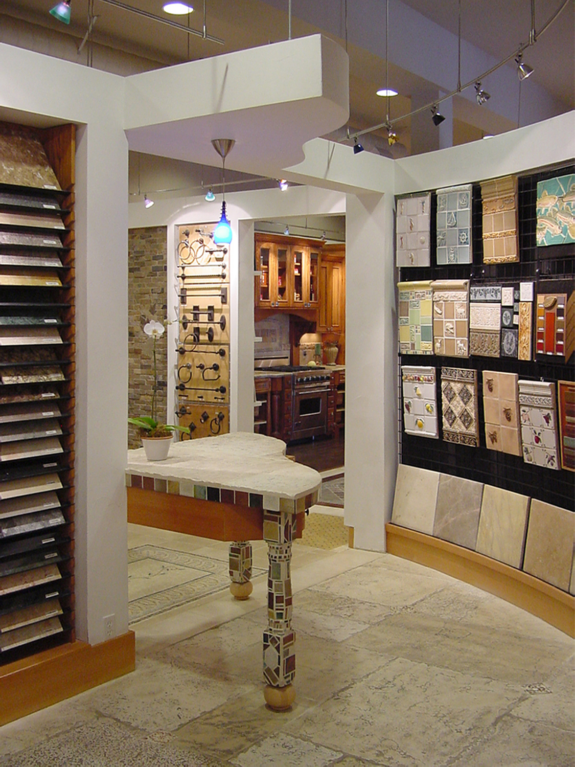Home Concepts Tiles display