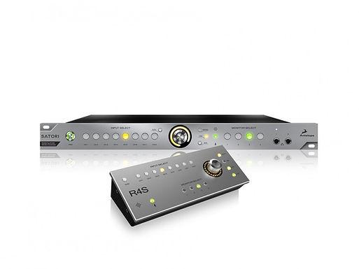 ANTELOPE AUDIO Satori & R4S — Мониторинг контроллер и аналоговый сумматор