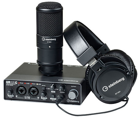 Steinberg UR22C Recording Pack Набор для звукозаписи
