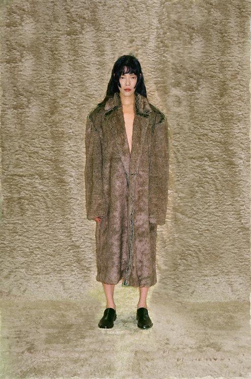 Brown Faux-Fur Coat
