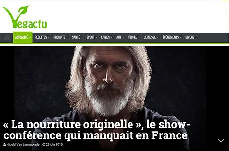 VEGACTU  Le show conference francais