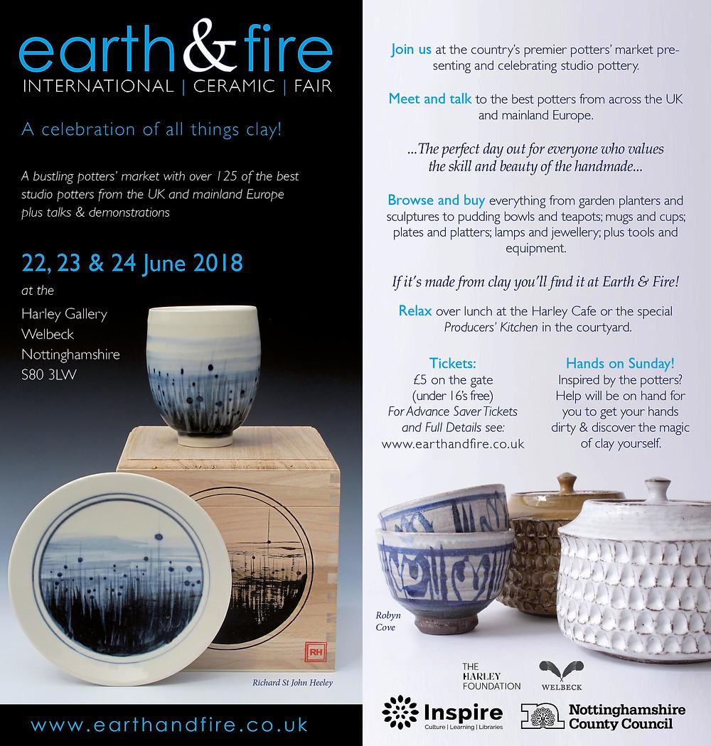 Earth and Fire Rob Parr Ceramics Contemporary