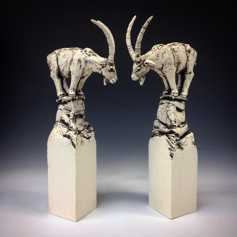 Rob Parr Ceramics Goat