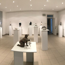 Panorama of exhibition