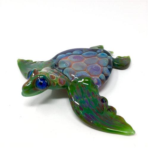 Lindemann Glass Sea Turtle