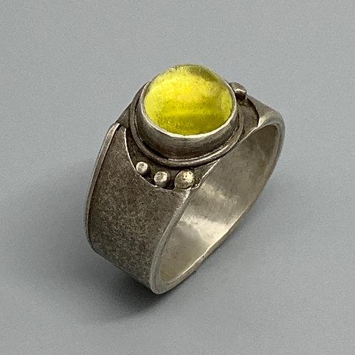 Jan Gordon Yellow Tourmaline Ring