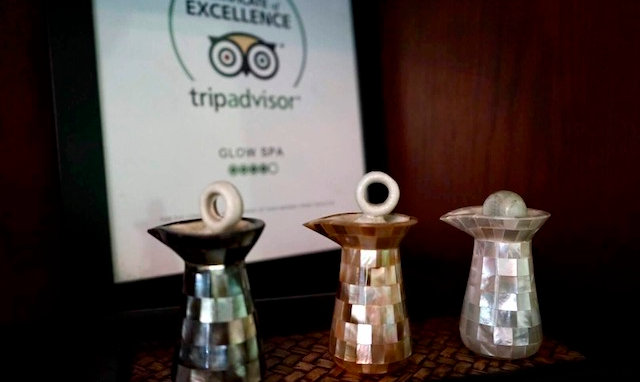 Glow Spa Certificate of Excellence
