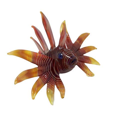 Lindemann Glass Small Lion Fish