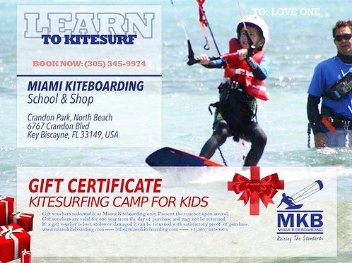 10h Kitesurf Gift Certificate - Youth Program