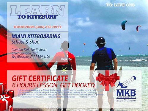 6h Kitesurf Gift Certificate