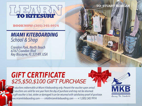 MKB Gift Cards
