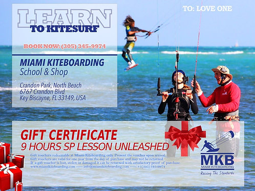 9h Kitesurf Gift Certificate