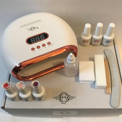 Complete Kit with 72w Smart BBnails Lamp