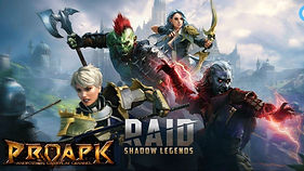 Raid Shadow Legends MMORPG Oyunu