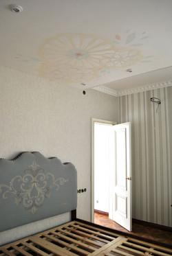Роспись потолка в Астане