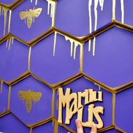 Декорирование гипсовых 3D панелей