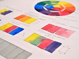 Цветовой круг и цветовые сочетания. Как работать с цветовым кругом. Видеоурок основы живописи