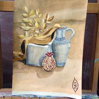 курсы живописи с нуля для начинающих в астане. Онлайн обучение рисованию.