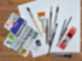 Материалы для рисования. Базовый курс. Основы рисунка и живописи