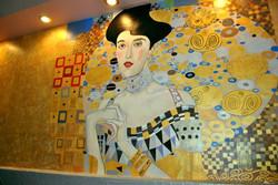Фрагмент росписи стены