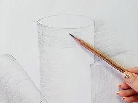 Основы академического рисунка. Как рисоватьгеометрические фигуры