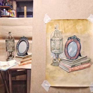 обучение рисованию и живописи для начинающих