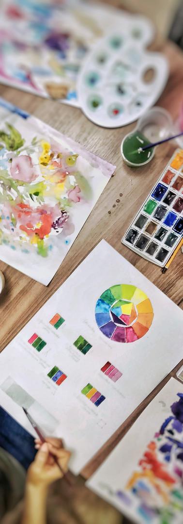 Основы рисования акварелью, техники и приемы. Рисование с нуля