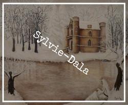 le chateau de la reine Blanche