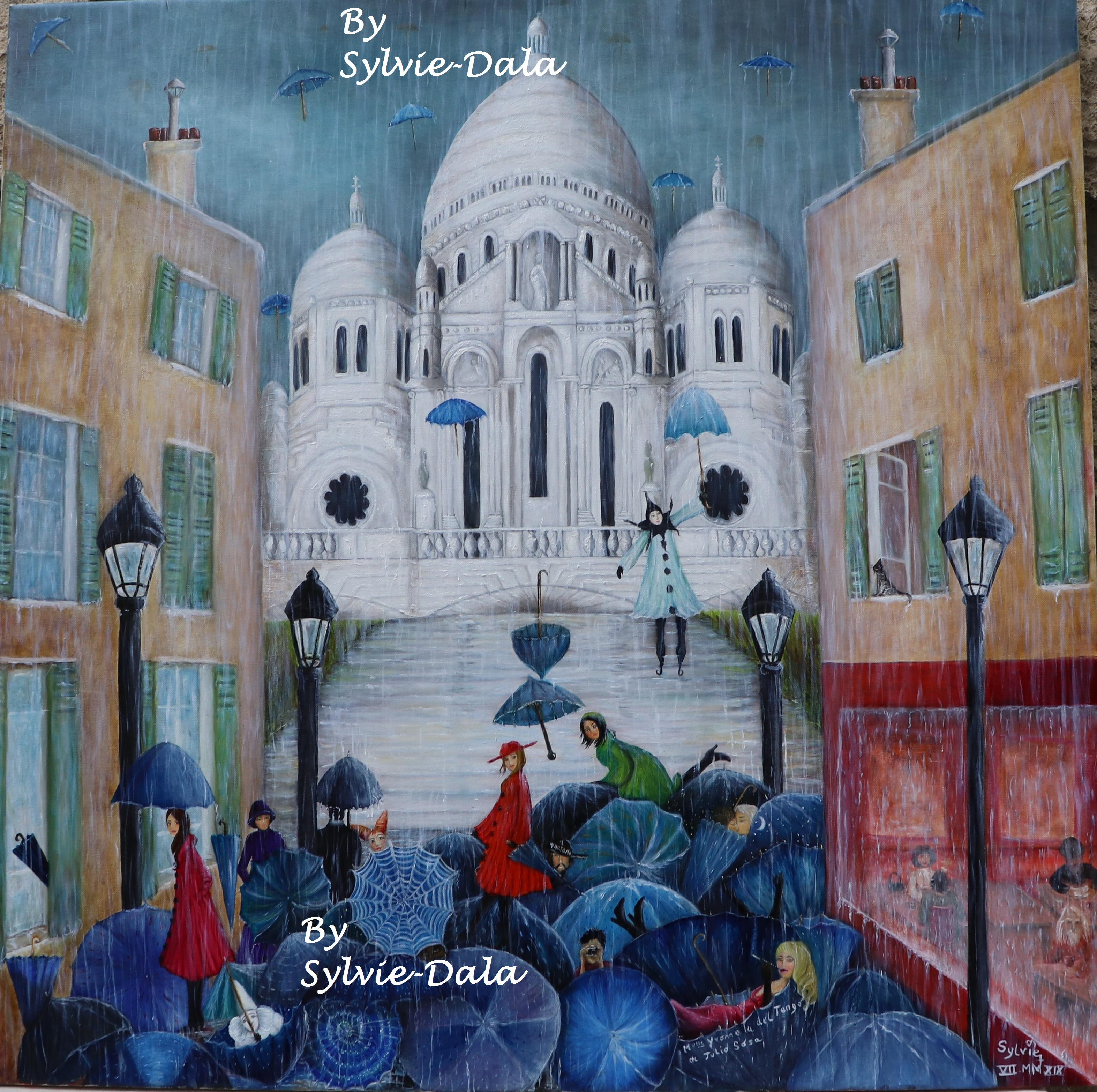 les parapluies de Montmartre