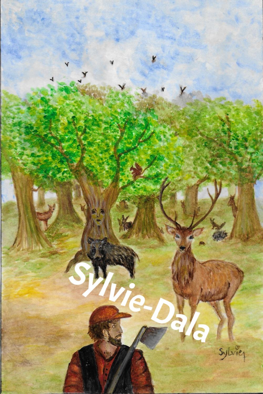 Le chêne, le bucheron et les hôtes de la forêt ch
