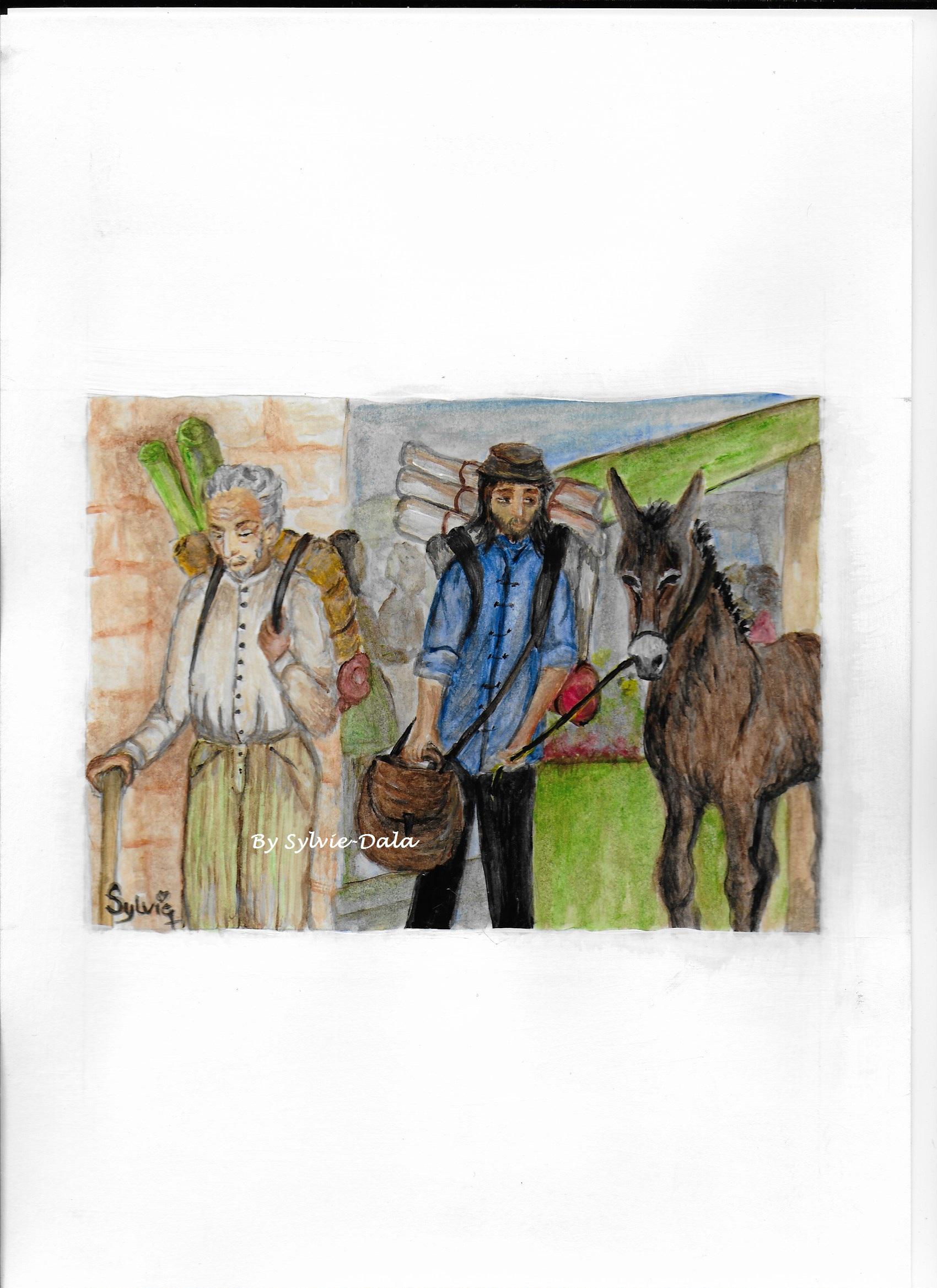 Le père, le fils et l'âne