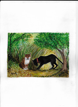 Le renard et la panthère