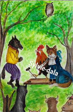 Le loup, le renard et le coq