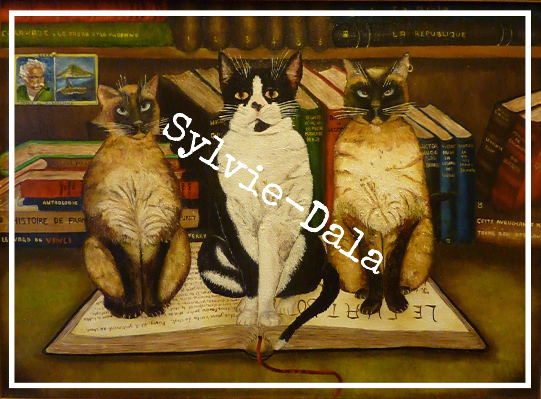 les chats savants
