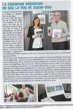 expo médiathèque Domont