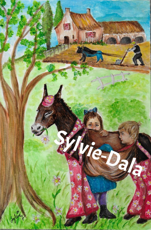 L'âne, le boeuf et le laboureur