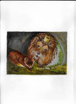 Le lion et le renard