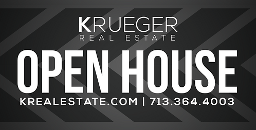 Small Open House Signs