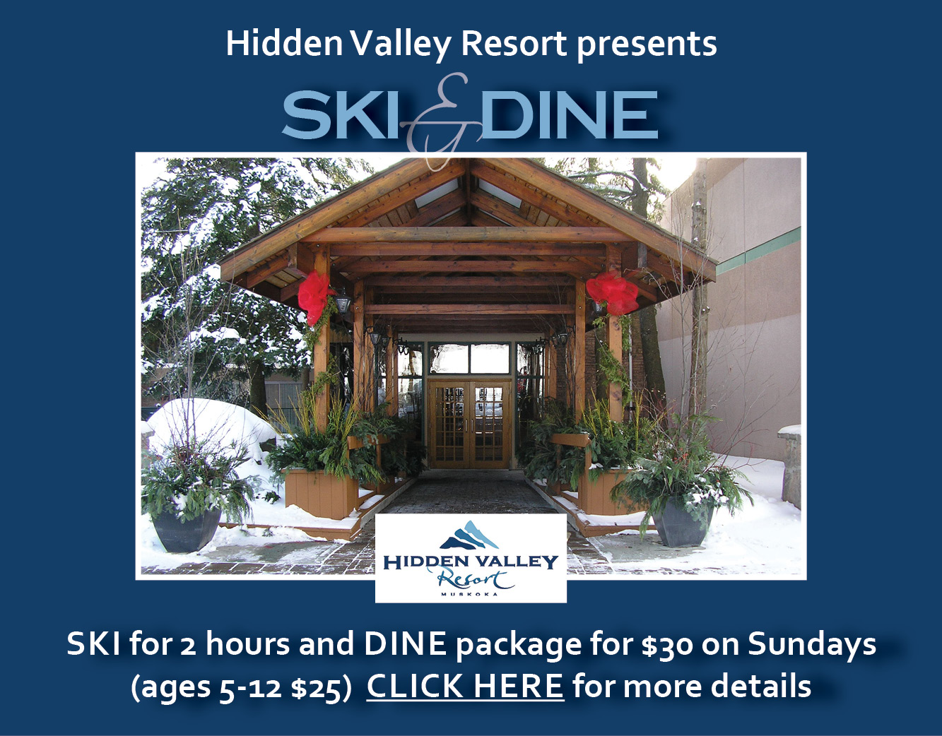 Hidden Valley Ski & Dine