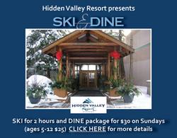 Hidden Valley Ski & Dine