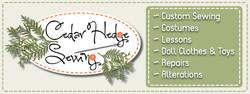 Cedar Hedge FB Banner