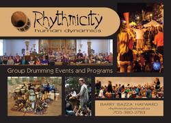 RHYTHMICITY front 5X7