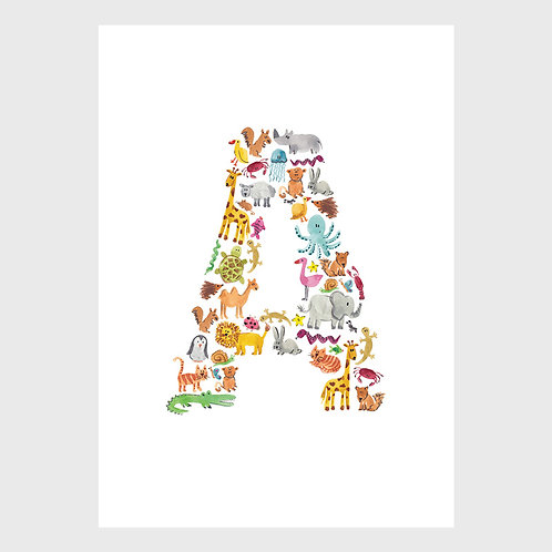 Animal Alphabet: A