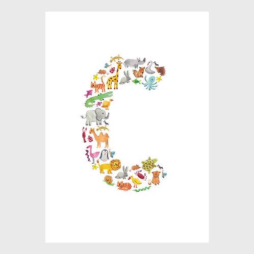 Animal Alphabet: C