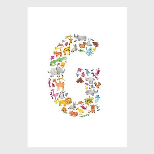 Animal Alphabet: G